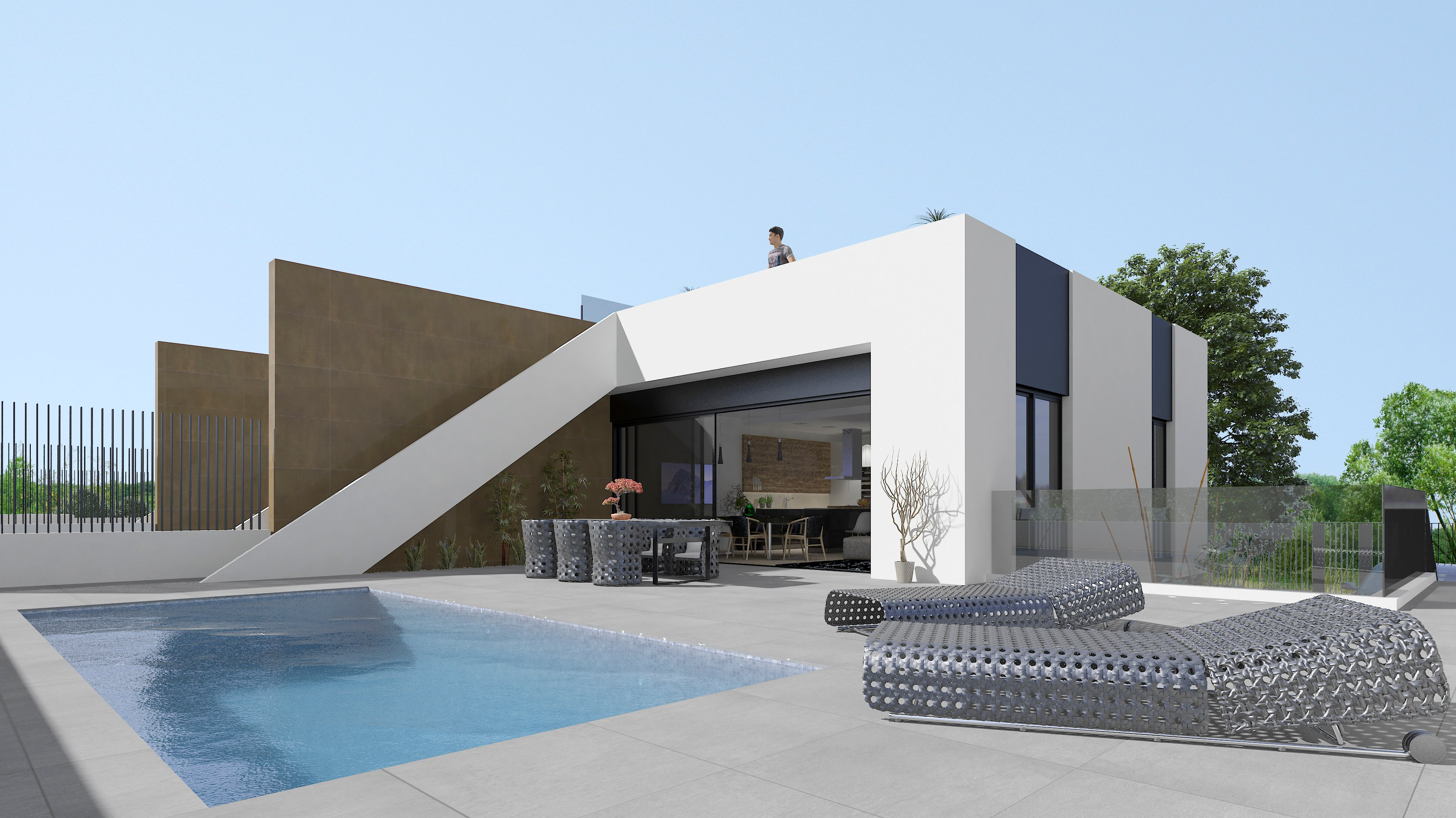 Exclusive modern architect designed houses